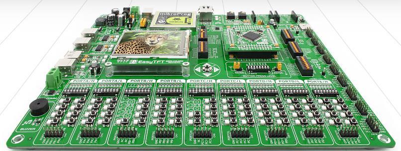 EasyMx Pro v7 for STM32 ARM | Beti Elektronik